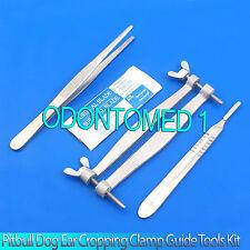 Pitbull Dog Ear Cropping Clamp Guide Tools Kit Veterinary Instruments Vt 101 Ebay