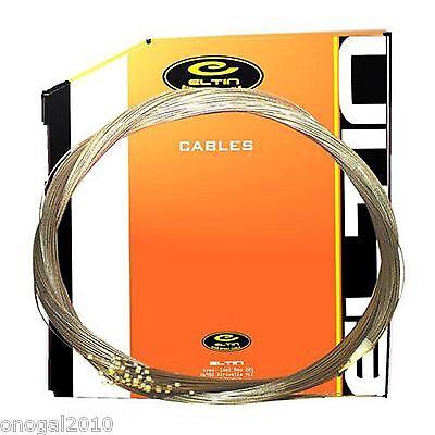 2x Cable Acero Cambio 2000 de Bicicleta compatible con Shimano y Campagnolo...