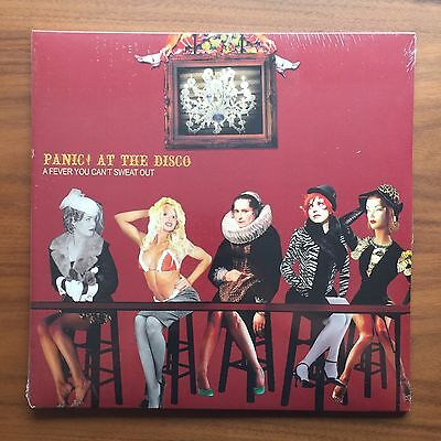 Panic At The Disco   Fever You Cant Sweat Out Vinyl Lp Black Sealed New