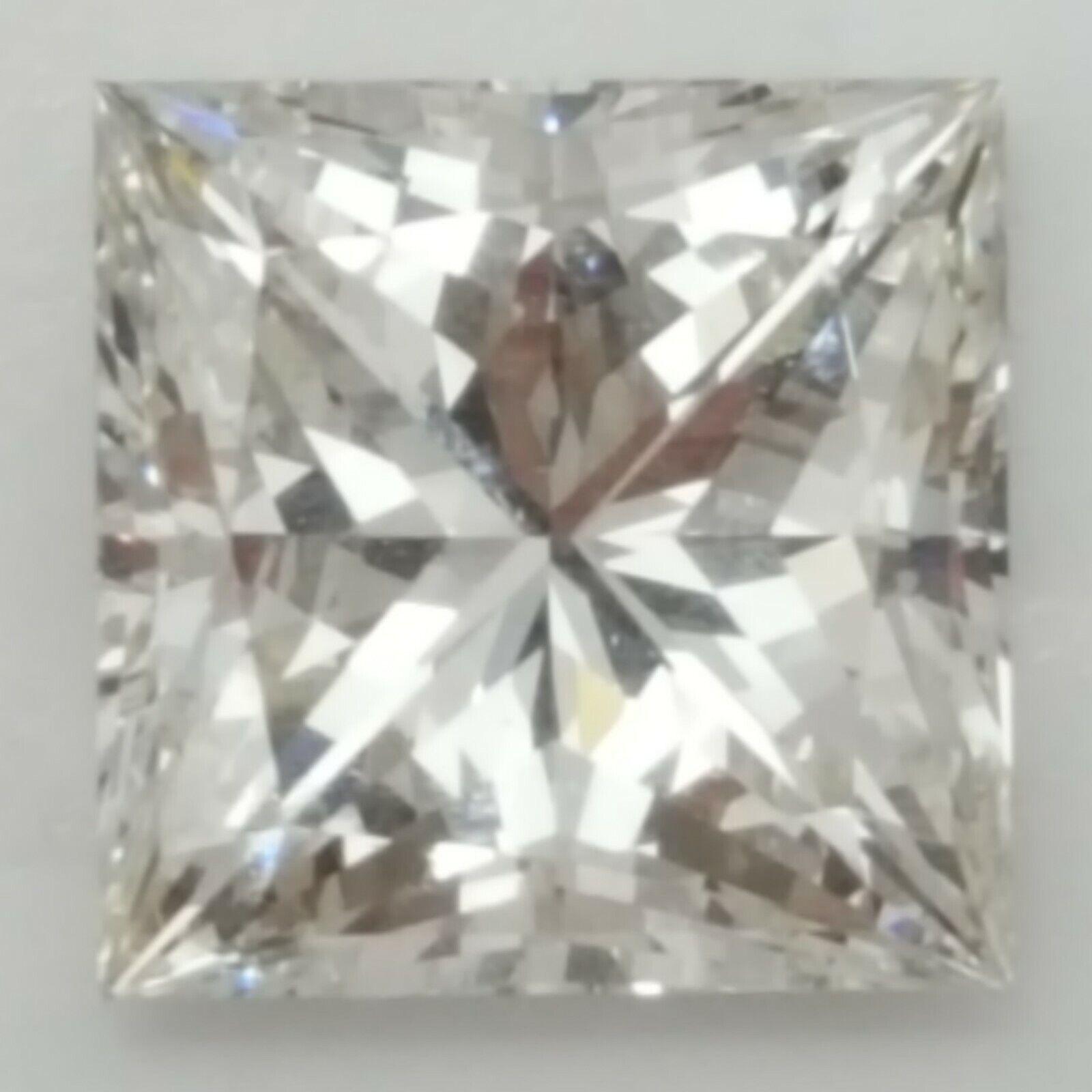 3.61 Carat Princess Cut Loose Square Diamond GIA Certified I/VS1 Natural Diamond