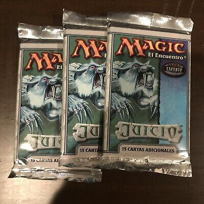 3x Magic the Gathering Judgement Booster Pack - MTG - SEALED - Spanish