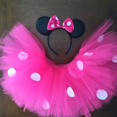 Hot Pink Minnie Mouse Tutu Costume Toddler, Girls, Women