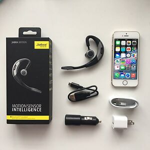 iPhone 5s 16 gb Fido & Jabra Motion