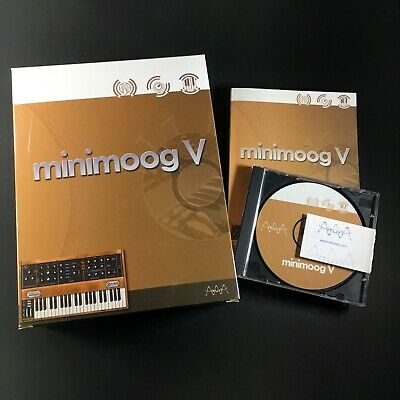 Arturia - Minimoog V VST Windows/Mac - Moog, VST, Synthesizer, Synth,    for sale  Shipping to India