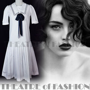 VINTAGE-LAURA-ASHLEY-SAILOR-DRESS-20s-FLAPPER-WEDDING-40s-30s-EDWARDIAN