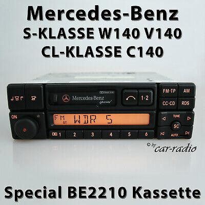 Original Mercedes Special BE2210 Becker W140 Autoradio S-Klasse C140 CL-Klasse