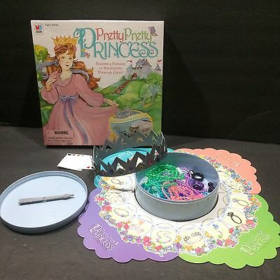 Pretty Pretty Princess Game 1999 Complete Fairytale Pretend Play Dress Up Dreams