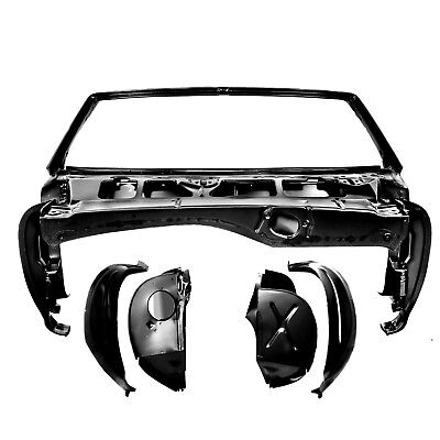 - 1968 Camaro Convertible Windshield Frame & Cowl Shoulder Assembly (Right & Left)