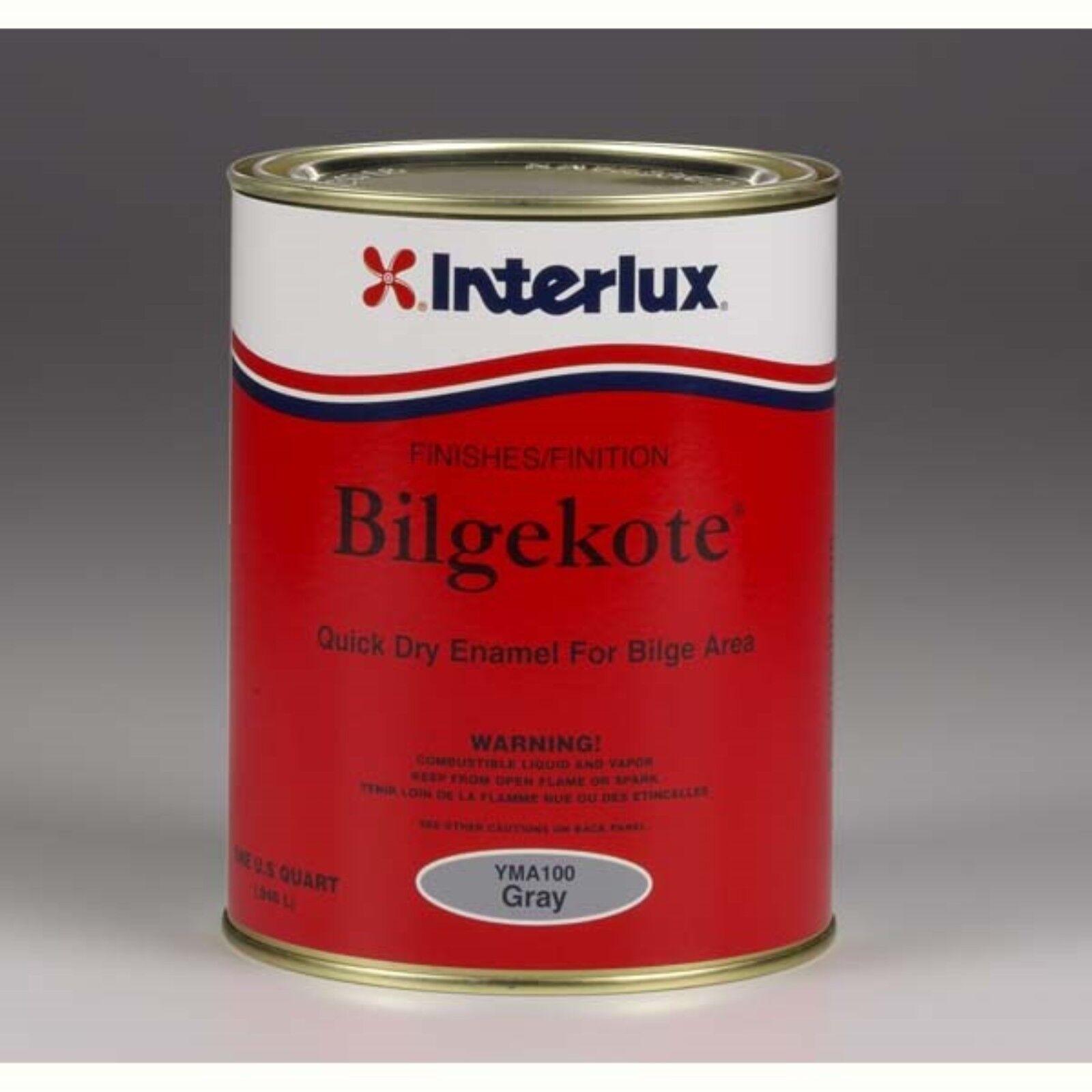 Interlux Bilgekote Fast Dry Bilge Enamel - WHITE QUART