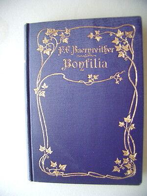 Bonsilia oder Gutgemeinte Wort an katholische Töchter 1893 von Baernreither