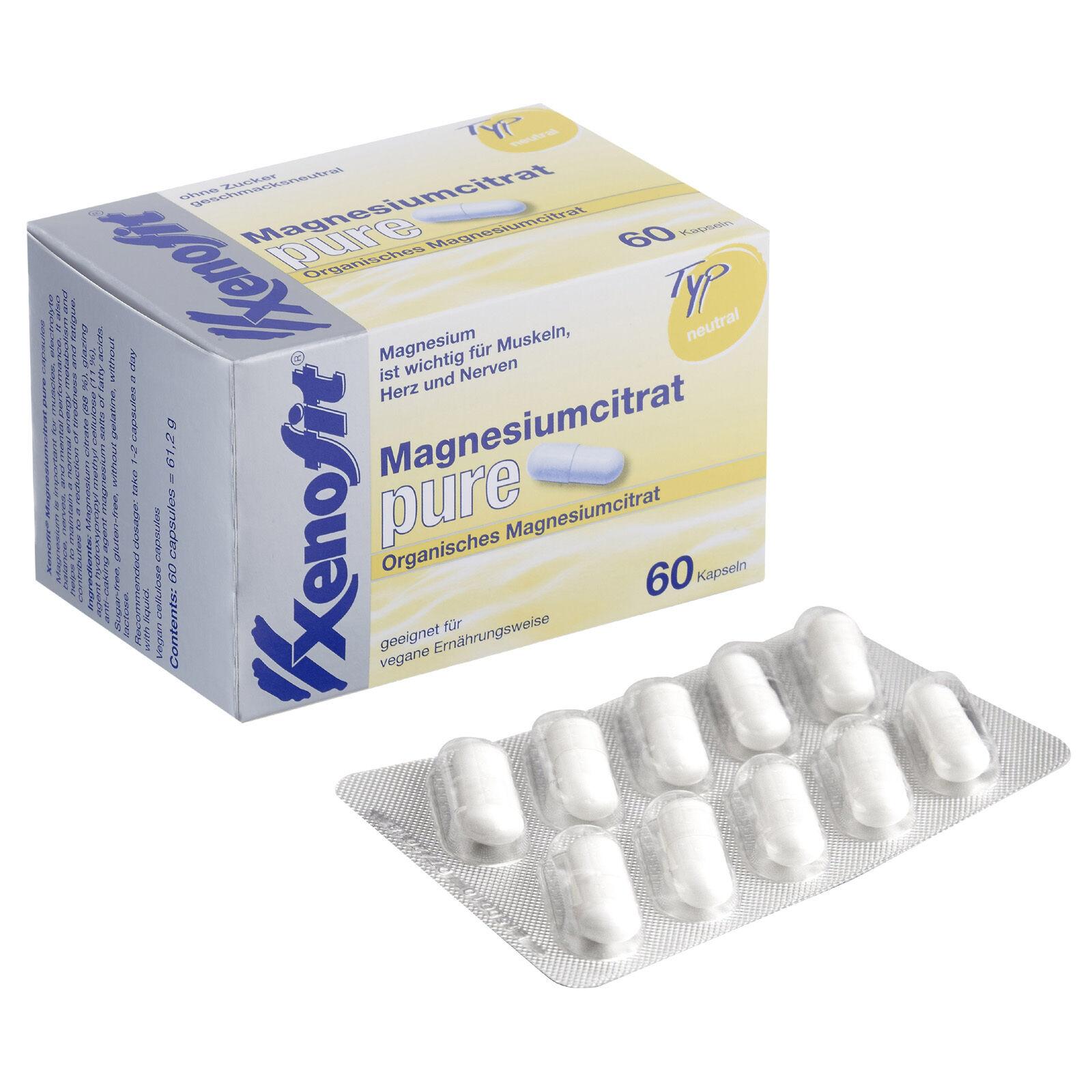 Xenofit Magnesiumcitrat pure (Kapseln)