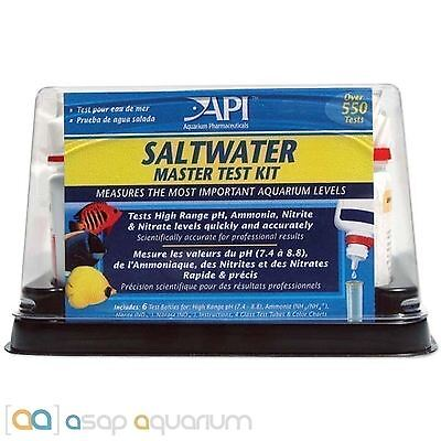 Api Nitrate Test Kit (API Saltwater Master Test Kit Marine Aquarium Multi Test Kit FREE USA)