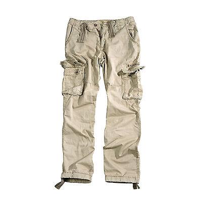 Alpha Industries JET PANT Cargo Hose, beige, bone white, khaki, Cargohose, Pants - White Cargo