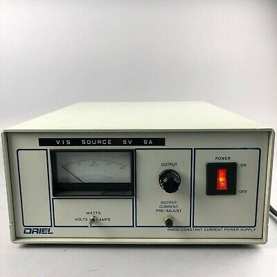 Newport Oriel 68830 Constant Current Power Supply Radiometric Power Supply