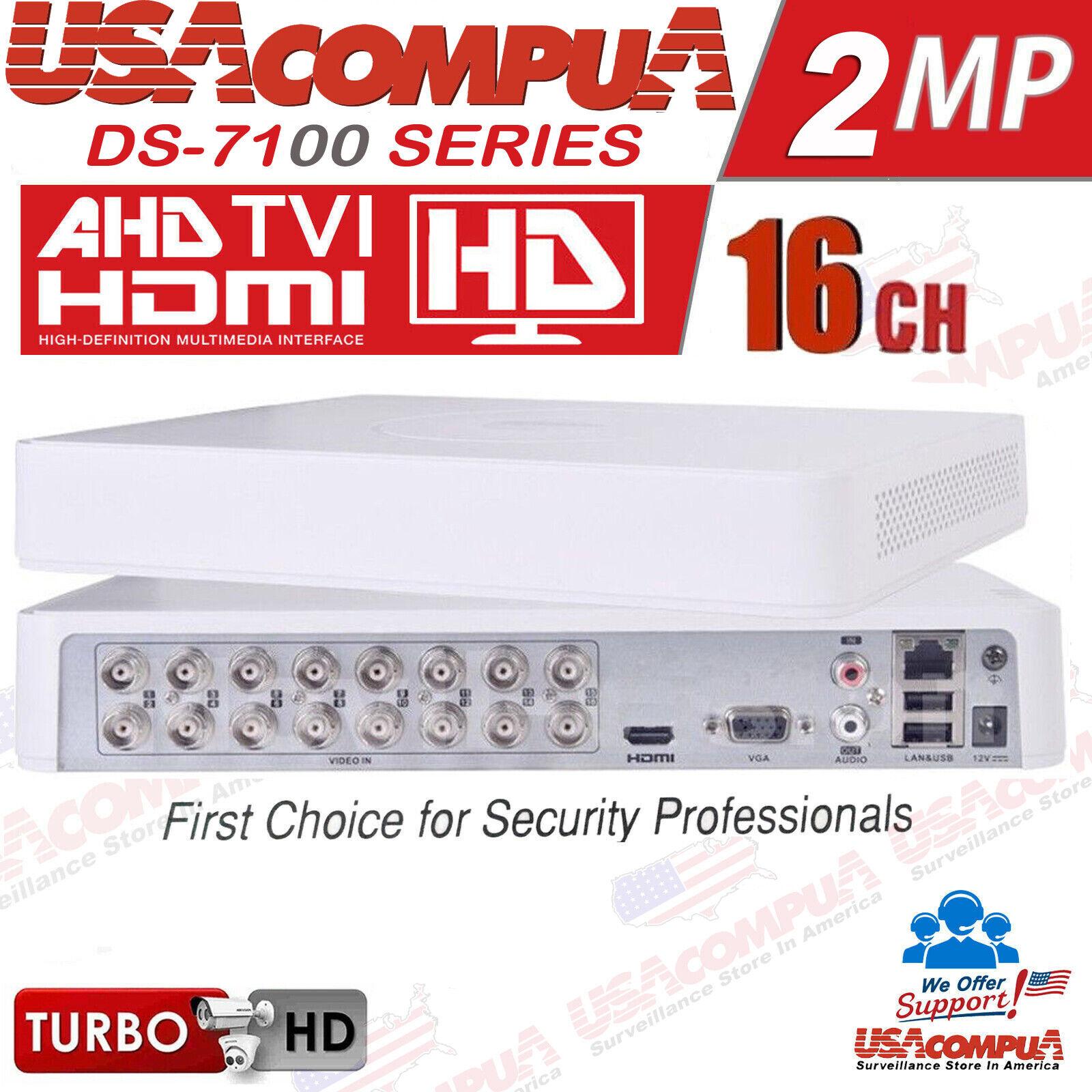 Hikvision 16 CH DVR DS-7116HGHI-F1 AHD HD-TVI H.264 Turbo HD