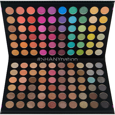 SHANY Ultimate Fusion - 120 Color Eye shadow Palette Natural