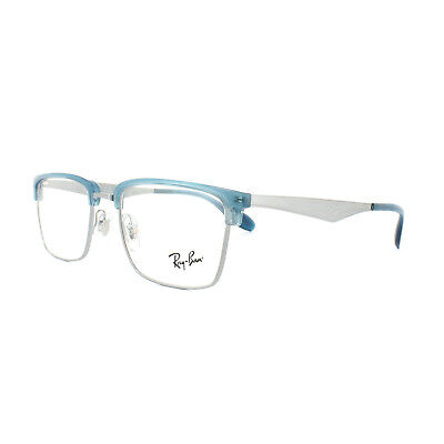 Ray-Ban Glasses Frames RX 6397 2934 Gunmetal Blue Mens Womens 52mm