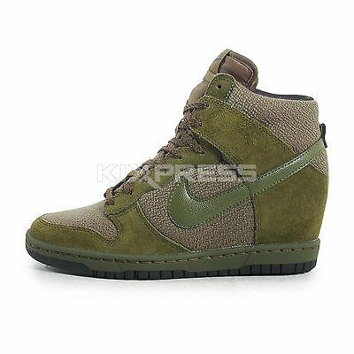 new arrival c6f7e f6c7b ... WMNS Nike Dunk Sky Hi Essential  644877-302  NSW Casual Rough Green  ...