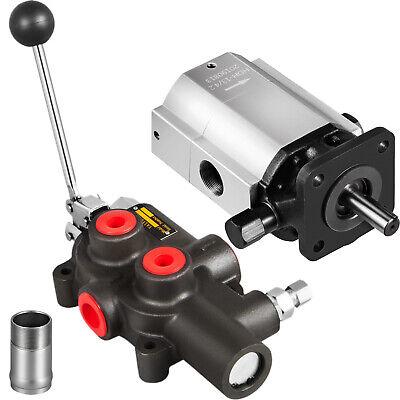 Hydraulic Log Splitter Kit16 Gpm 2 Stage Pump 25 Gpm Auto Control Detent Valve