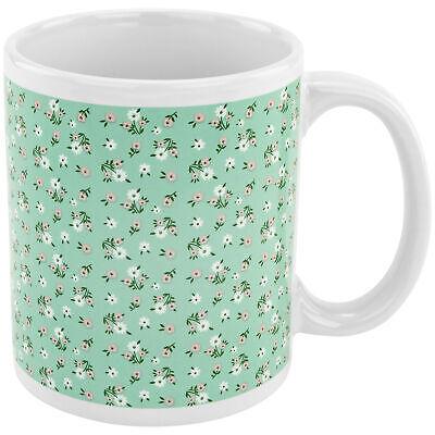 Floral Pattern w/ Penis Image on Bottom Coffee Tea Mug Cup Gag Novelty Gift Dinnerware & Serveware