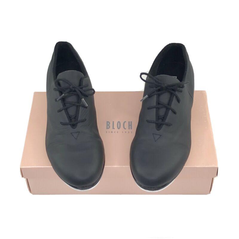 BLOCH Black Leather Audeo Tap Shoes Women
