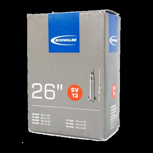Details about  /Schwalbe SV13 26 x 1.50-2.40 Presta Valve FV 40mm MTB Schläuche 1 Pack 4 Pack