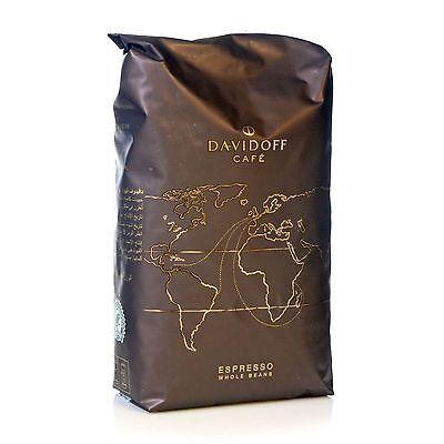 Davidoff Café Espresso Kaffee Espresso - 500g ganze Bohnen  - Bohnenkaffee