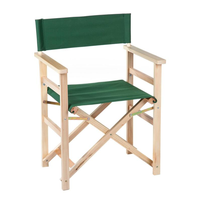 Wooden Directors Chair | EBay