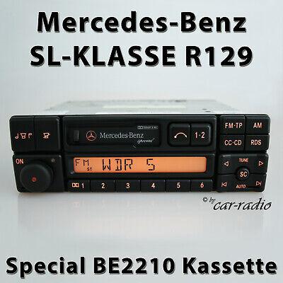 Original Mercedes Special BE2210 Becker R129 Autoradio SL-Klasse W129 Kassette