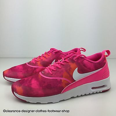 NIKE AIR MAX THEA PRINT TRAINERS WOMENS CASUAL SHOE UK 3 RRP £125