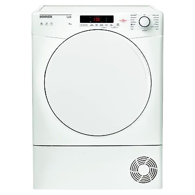 Hoover HLC9DF 9kg Load Freestanding Condenser Sensor Tumble Dryer - White