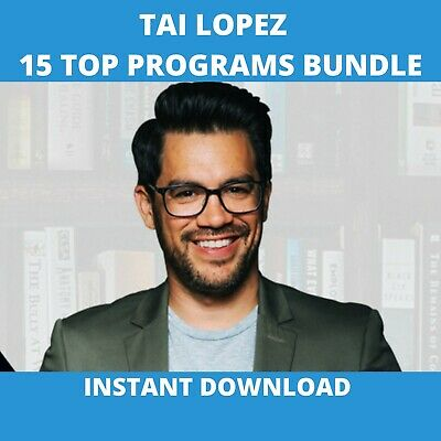 Tai Lopez Course 2020 All Programs Bundle - Up To Date Insta Download