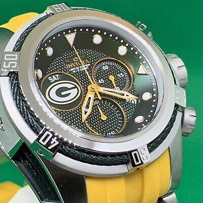 Invicta NFL Green Bay Packers 53mm Bolt Zeus LTD ED Watch. # 30234. Last One!!!!