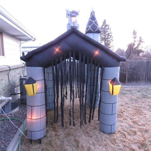 Haunted House Halloween Airblown Inflatable RARE! 11
