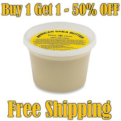 Raw African Shea Butter Pure Organic Unrefined 16 oz / 1 lb