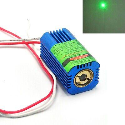532nm 50mw Green Focus Dot Laser Diode Module 9v-12v W Heatsink Cooling