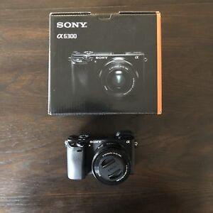 Sony a6300 with 16-50 mm Lense - Like new - Mint Condition 10/10