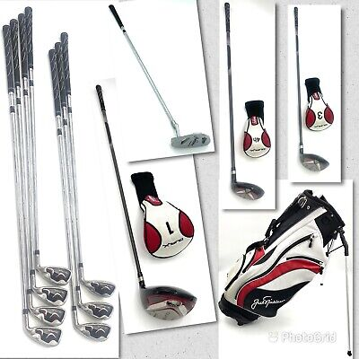 Jack Nicklaus DUAL X Complete Golf Set PLUS Stand Carry Bag