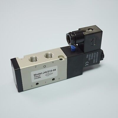14 Pneumatic 52 Way Electric Control Solenoid Valve 4v310-08 Ac220v