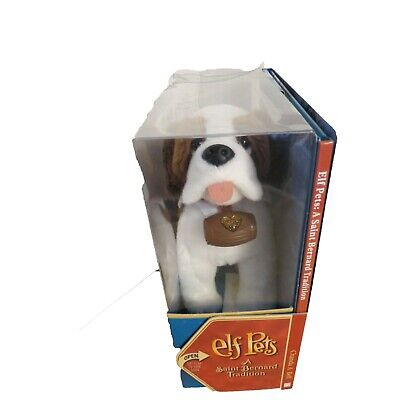 New Elf on the Shelf Saint Bernard Pet with Hardcover Book