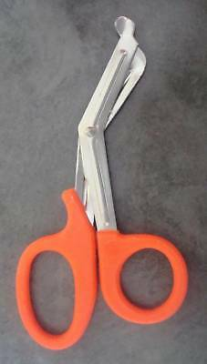 Orange Utility Scissors 7.5 Emt Medical Paramedic Nurs