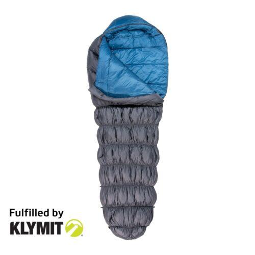 Klymit KSB 15 Degree Down Hybrid Sleeping Bag Camping Backpacking - Refurbished