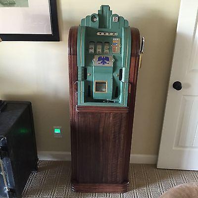 Antique Vintage Mills Extraordinary Slot Machine