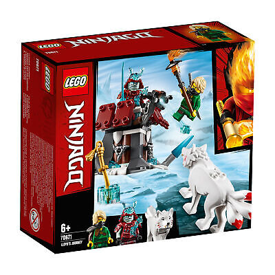 70671 LEGO Ninjago Lloyd's Journey Set with Minifigure & Wolf 81 Pieces 6 Years+