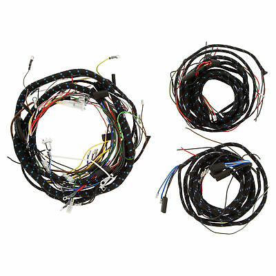 Austin-Healey Sprite Wiring harness Cloth incl. Main loom & Body rear 1958-1961