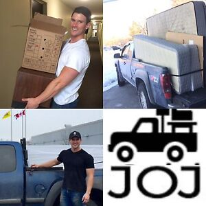 Truck for Hire, moves deliveries, packing, etc