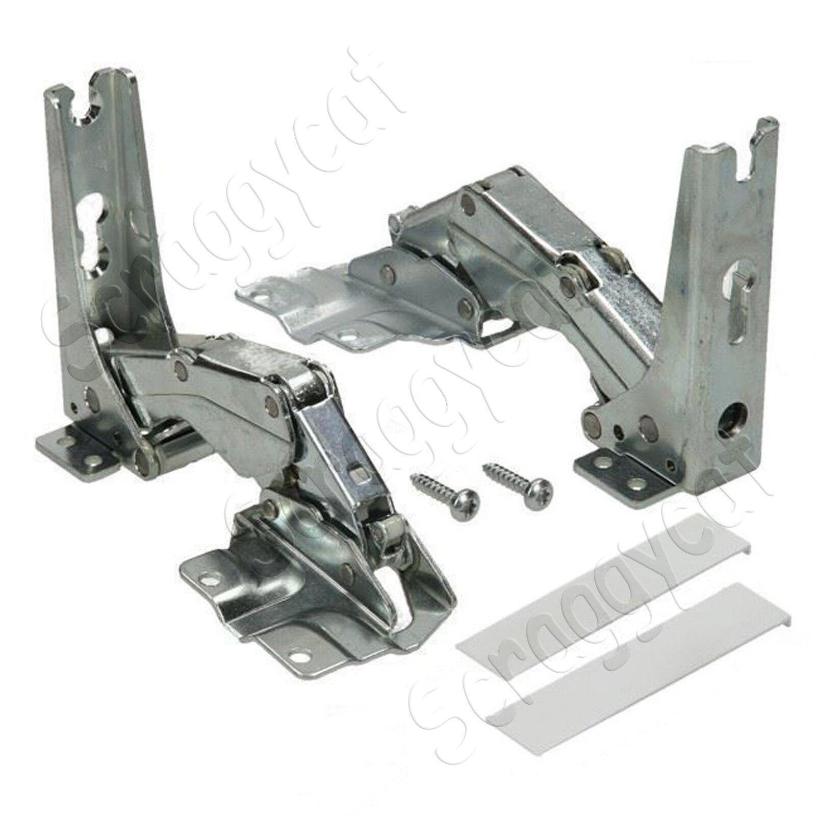 2 Hinges For Bosch Neff Siemens Integrated Fridge Freezer 481147 Left or Right