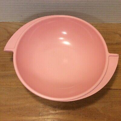 Vintage Melamine Boonton Ware Serving Vegetable Bowl Pink Winged Atomic 604