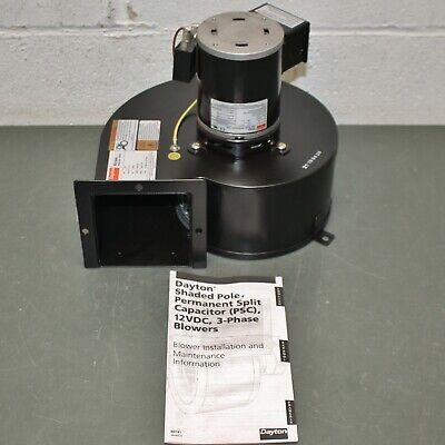 Dayton Blower 1tdv3 115v Ac 1700 Rpm Rectangular Flange Outlet Psc Motor