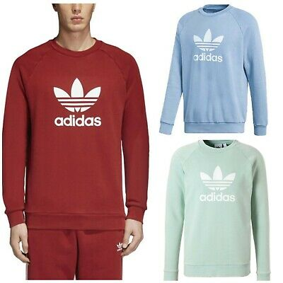 Adidas Original Men's Trefoil SWEAT SHIRT Crew Neck Jumper Shirt